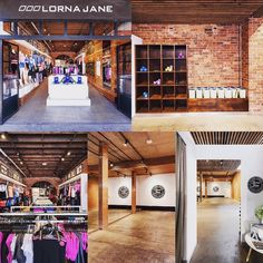 Our design for #lornajane Chapel Street looked fantastic and make great use of the exposed brickwork. #heisearchitecture #HAproject #Retail #interiordesign