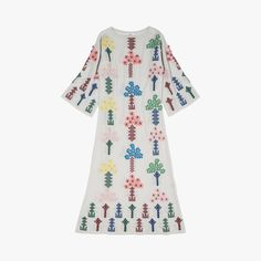 Robe+Candy+tree+broderies+multicolores+-+BARRIE+-+Find+this+product+on+Bon+Marché+website+-+Le+Bon+Marché+Rive+Gauche