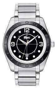 Lacoste Male Panama Watch  2010574 Silver Analog Sale price. $151.95