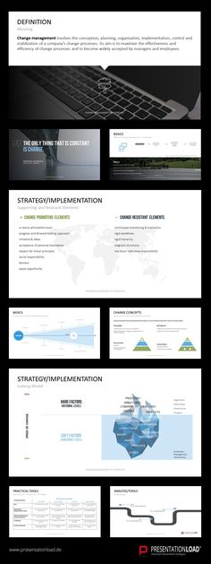 21 Best Change Management // PowerPoint Templates images in