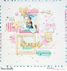 """Niedawno pokazywałam Was layouty wykonane z nowej kolekcji Cocoa Vanilla Studio """"Love always"""" a już dzisiaj mam z dla Was LO zrobione z jesz..."""