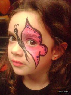 colors Fantasy makeup butterfly - maquillaje fantasia mariposa ♛