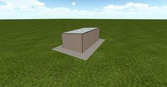 3D #architecture via @themuellerinc http://ift.tt/2dx39U0 #barn #workshop #greenhouse #garage #DIY