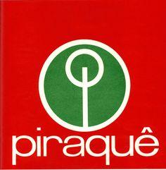 Projeto Lygia Pape | Obras | Anos 70 Logotipo Piraquê 1960/1970 Fábrica brasileira de biscoitos e massas