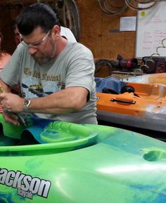 The Jackson Kayak factory