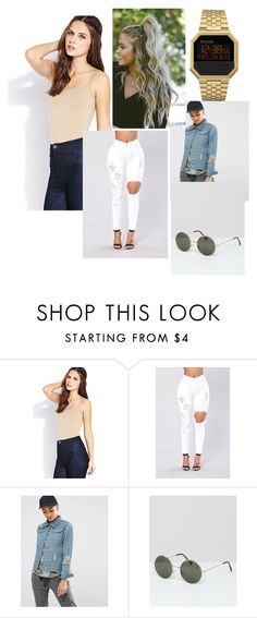 """""""Untitled #97"""" by olivyathompson on Polyvore featuring Forever 21, Daisy Street, Vero Moda and T3"""