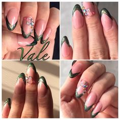 Color French nail art gel