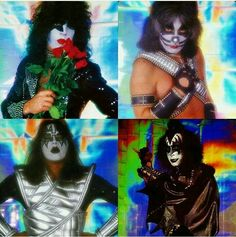 Kiss Images, Kiss Pictures, Kiss Rock Bands, Kiss Members, Vintage Kiss, Kiss Art, Kiss Photo, Best Kisses, Hot Band