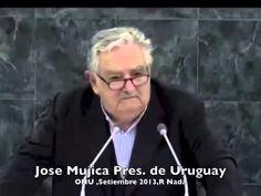 EL GRAN discurso del presidente de Uruguay (Jose Mujica) en la ONU. 2013