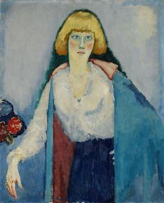 "terminusantequem: "" Kees Van Dongen (Dutch, 1877-1968), Portrait de Billy, 1920 """
