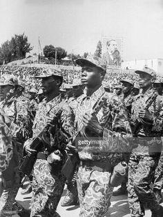 Addis Ababa in 1977 (1969-1970 E.C) Tanzania, Kenya, Addis Abeba, Great Leaders, Mother And Child, Africa, Army Uniform, Athletics, Revolution
