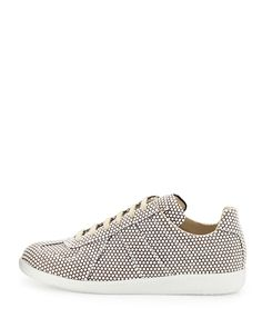 Replica Dotted Low-Top Sneaker