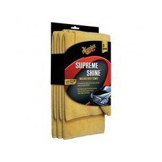 Meguiars X2020 Supreme Shine Microfiber Towels for Cars, Homes - (Pack of 3) #Meguiars