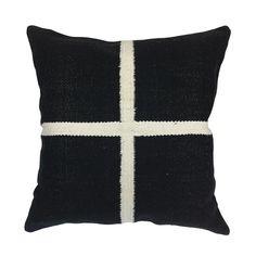 Nordic White Cross Cushion 50cm – Madras Link