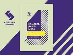 CSS Design Awards - Judge Certificate
