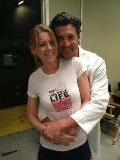 Patrick Dempsey and Ellen Pompeo in the Best Donor Ad ever! #Iambiased