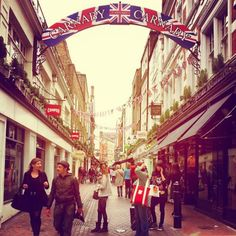 Carnaby is a great place to chill and shop for the unexpected.
