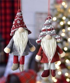 Hey, I found this really awesome Etsy listing at https://www.etsy.com/listing/542315631/gnome-ornament-made-of-polyester-set-of