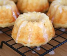 Mini Lemon Ricotta Bundt Cakes (Low Carb and Gluten Free)