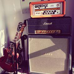 Marshall 1959 Slp 1960ahw Orange AD30tch Giboson Es-335