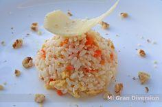 ARROZ NELBA... a mi manera Thermomix Tostadas, Couscous, Potato Salad, Grains, Rice, Potatoes, Bacon, Ethnic Recipes, Food
