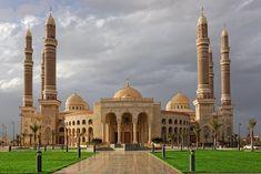 El- Salih Camii, San'a, Yemen