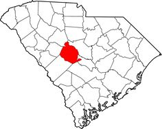 Map of South Carolina highlighting Abbeville County South Carolina Schools, Pickens County, Chester County, Fairfield County, Hilton Head Island, Columbia, Map, Timeline Project, History
