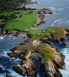 Cypress Point. California.