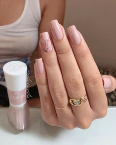 Easy Spring Nail Designs Ideas You Are Loving 2019 Every girl loves beautiful nails, and nails are the first thing we notice each other. Therefore, we need to take good care of them. we collected beautiful spring nail designs for girls who love be. Spring Nail Art, Nail Designs Spring, Spring Nails, Nail Art Designs, Summer Nails, Cute Nails, Pretty Nails, My Nails, Manicure Colors