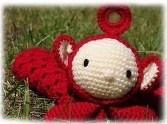 Teletubbies Po Comforter Crochet Pattern