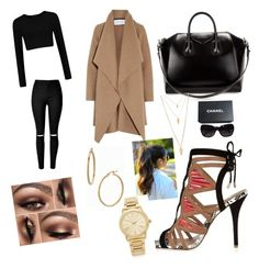 """""""Untitled #76"""" by trevordjones on Polyvore featuring River Island, Harris Wharf London, Givenchy, Chanel, Forever 21, Michael Kors and Bony Levy"""