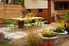 Awesome patio.  http://www.diyideas.com/outdoorideas/DeckPatio/backyard-transformation_ss1.html
