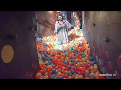 Haunted Circus Maze with Ball Pit Walk-through - Dark Harbor 2015 Halloween Labyrinth, Halloween Maze, Halloween Circus, Adult Halloween Party, Halloween Birthday, Halloween Themes, Halloween Queen, Halloween Witches, Creepy Halloween
