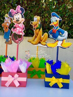 Mickey Mouse Clubhouse cumpleaños partido invitado madera