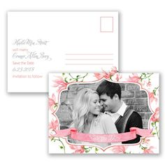 Romantic Wildflowers Save the Date Postcard - in Coral Reef #SaveTheDate #SummerWedding http://www.invitationsbydavidsbridal.com/Wedding-Invitations/Save-the-Dates/2947-DBP34785CORSD-Romantic-Wildflowers--Coral-Reef--Save-the-Date-Postcard.pro?&sSource=Pinterest&kw=SummerBreeze_DBP34785CORSD #DavidsBridal
