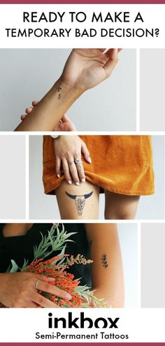 tattoos are the perfect way to test drive your next tattoo. Semi-permanent tattoos last days and fade away naturally. Diy Tattoo, Get A Tattoo, Back Tattoo, Body Art Tattoos, Small Tattoos, Cool Tattoos, Tatoos, Sun Tattoos, Bird Tattoos