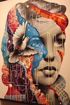 Graffiti street art is an unfading trendy. You can get these cool graffiti artwo… Murals Street Art, 3d Street Art, Best Street Art, Amazing Street Art, Mural Art, Street Art Graffiti, Street Artists, Amazing Art, Art Art
