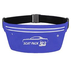Womens Waterproof Dodge Challenger Scat Pack Whit Waist Pouch *** You can get more details by clicking on the image.