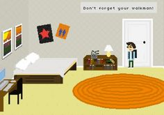A free, playable adventure game promotes the new Okkervil River album. Don't forget your Walkman.