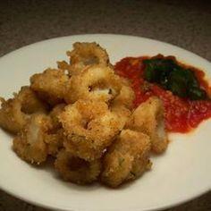 Salt & Szechuan Pepper Squid @ allrecipes.com.au
