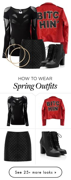 """Erica Inspired Outfit - Teen Wolf"" by clawsandclothes on Polyvore featuring McQ by Alexander McQueen and Oasis Teen Wolf Erica, Spring Outfits Women, Night Out Outfit, Girl Pictures, Alexander Mcqueen, Cute Outfits, Girly, Oasis, Inspired"