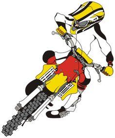 Papel De Parede Desenho Moto Cross Ptaxdyndnsorg