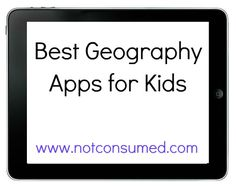 Best Geography Apps For Kids