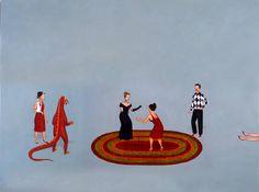 Artist: Edward del Rosario, Title: Contest of Champions II, 2007