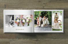 Weet je nog, onze huwelijksdag? Bewaar die prachtige foto's in een zelfgemaakt fotoboek. #fotoboek #huwelijk