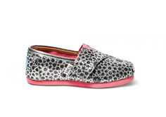 Kids Toms Silver Moroccan Classics - BK's Brand Name Clothing
