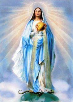 Rainha do mundo #rosary #faith #Queenoftheuniverse