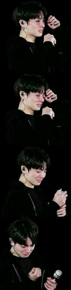 istg when i see jungkookie crying I BAWL MY EYES OUT IT'S NOT HEALTHY..GOD PROTECT HIM :')