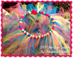 Be frugal this #Halloween and make your little ballerina,princess, or fairy, a tutu at home! #DIY #Kids