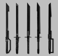 Tactical swords/machetes concepts